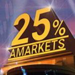 25% в честь дня рождения AMarkets